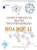 Cơ sở lý thuyết và bài tập ôn luyện Quốc gia Hóa học 12