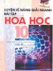 Luyện Kỹ Năng Giải Nhanh Bài Tập Hóa Học 10