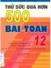 Thử Sức Qua Hơn 500 Bài Toán 12