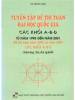 Tuyển Tập Đề Thi Toán Đại Học Quốc Gia Các Khối A-B-D Từ 1995-2001